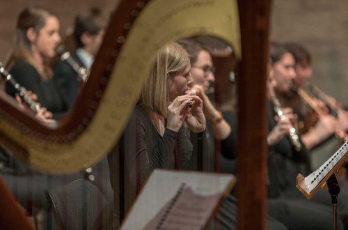 Holzbläser des Symphonieorchesters der Universität Regensburg, Foto: © Uwe Moosburger