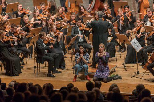 Carolin Löffler, Inga-Britt Andersson, Symphonieorchester, Foto: © Uwe Moosburger