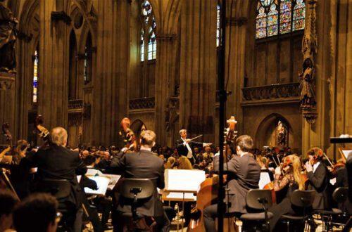Arn Goerke, Symphonieorchester der Universität, Foto: Michaela Schmid