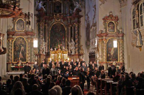 Elisabeth Wimmer - Sopran, Martina Kaňková - Alt, Philipp Kranjc - Bass, Neuer Kammerchor der HfKM, Barockorchester RUBIO