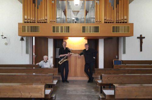 Peter Thoma - Saxophon, Arn Goerke - Orgel