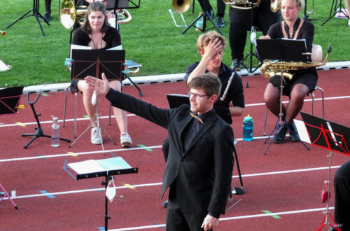 Open-Air-Konzert der CampusBlosn